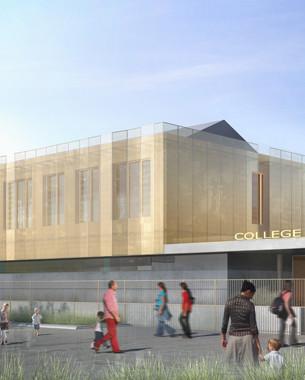750 élèves cherchent collège moderne et fonctionnel ... vieux bâtiments s'abstenir ...